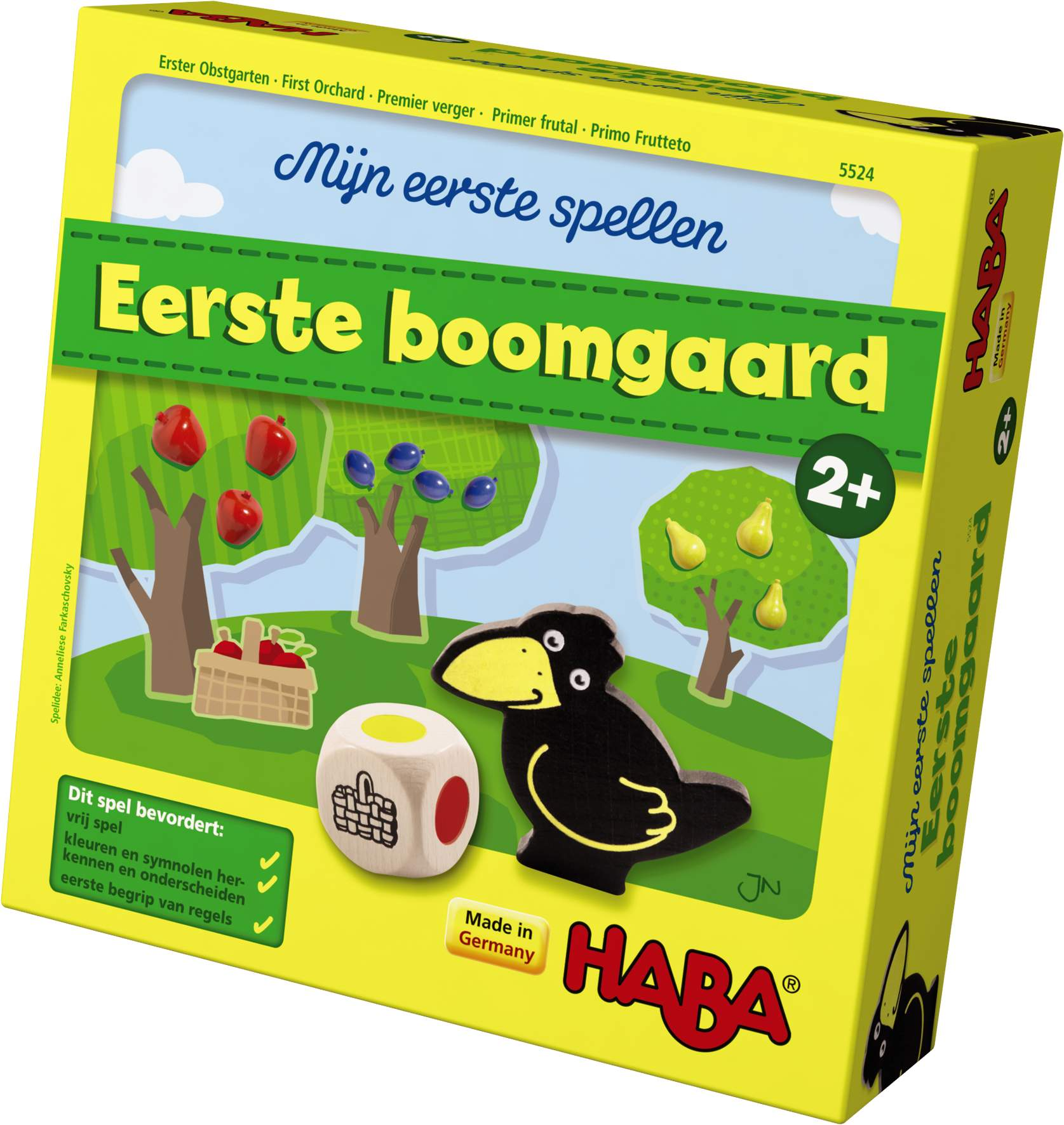 mijn eerste spellen eerste boomgaard van haba kopen. Black Bedroom Furniture Sets. Home Design Ideas