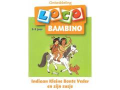 Bambino Loco Indiaan Kleine Bonte Veder en zijn zusje
