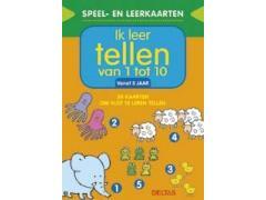 Speel- en Leerkaarten: Ik Leer Tellen van 1 tot 10