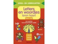 Speel- en Leerkaarten: Letters en Woordjes Leren Lezen
