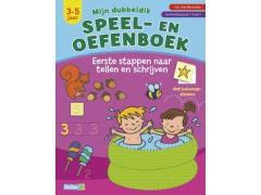 Mijn Dubbeldik Speel- en Oefenboek: Tellen en Schrijven
