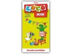 Mini Loco Kikker: Puzzelen met Kikker
