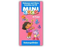 Mini Loco Dora en Diego: Rekenen met Dora - Getallen tot 10