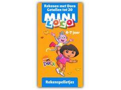 Mini Loco Dora en Diego: Rekenen met Dora - Getallen tot 20