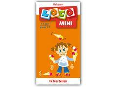 Mini Loco Rekenspelletjes 1: Ik Leer Tellen