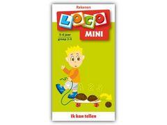 Mini Loco Rekenspelletjes 2: Ik Kan Tellen