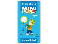Mini Loco Rekenspelletjes 3: Ik Leer Rekenen