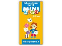 Mini Loco Rekenspelletjes 4: Ik Kan Rekenen tot 12