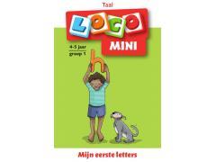 Mini Loco Taalspelletjes 1: Mijn Eerste Letters