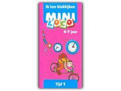 Mini Loco Tijd 1: Ik Leer Klokkijken