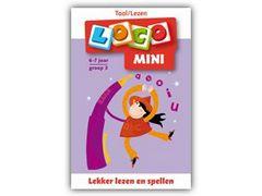 Mini Loco Lezen: Lekker Lezen en Spellen