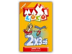 Maxi Loco Rekenen Groep 4: Tafels 1 - 10