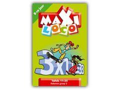 Maxi Loco Rekenen Groep 6: Tafels 11-25