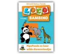 Bambino Loco Wereld Natuur Fonds: Pipapanda en haar wilde Dierenvriendjes