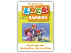 Bambino Loco Het Zandkasteel: Puzzel mee met Koning Koos, Sassa en Toto